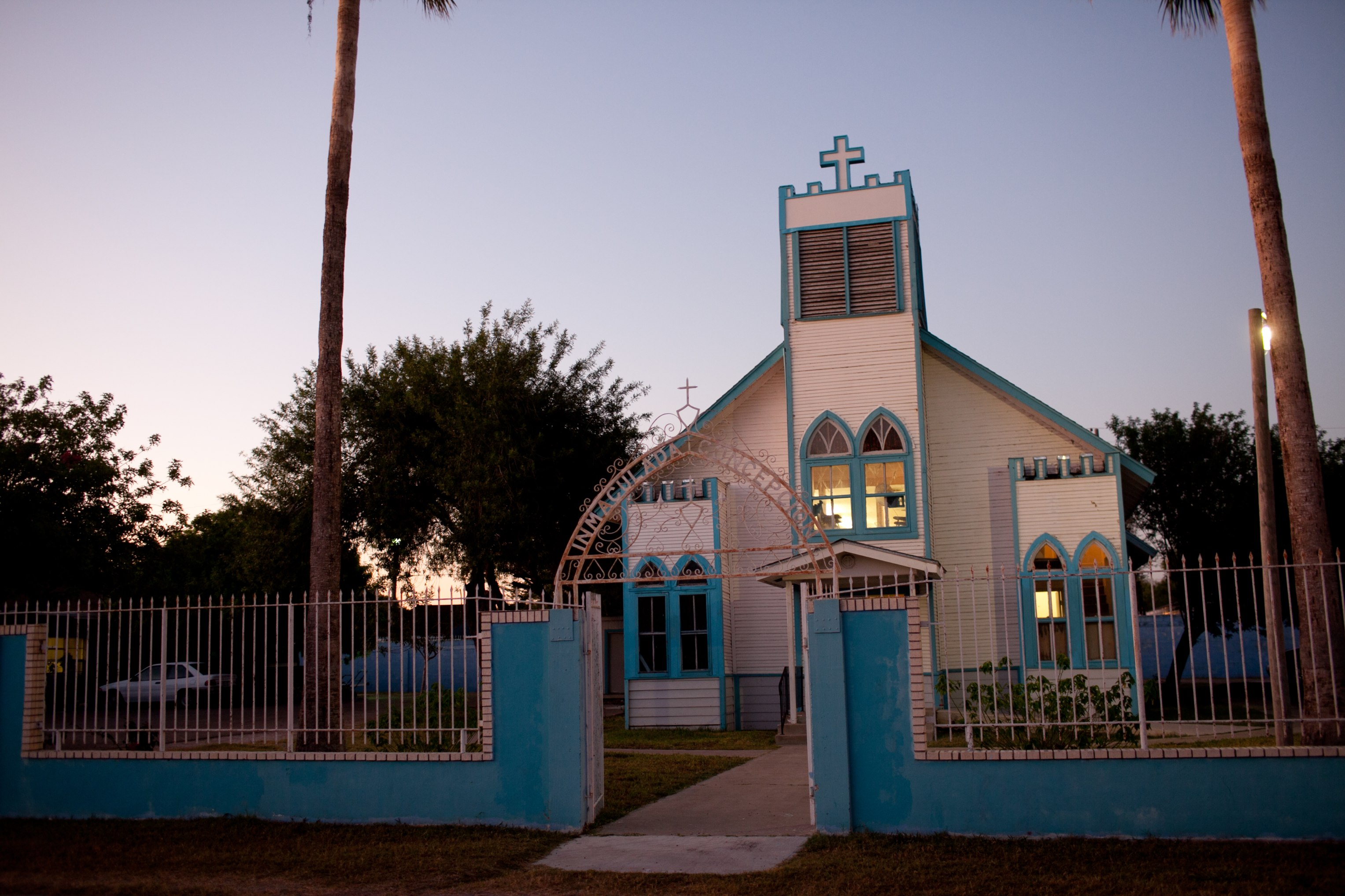 This unassuming mission Church is a force of change in Lopezville.