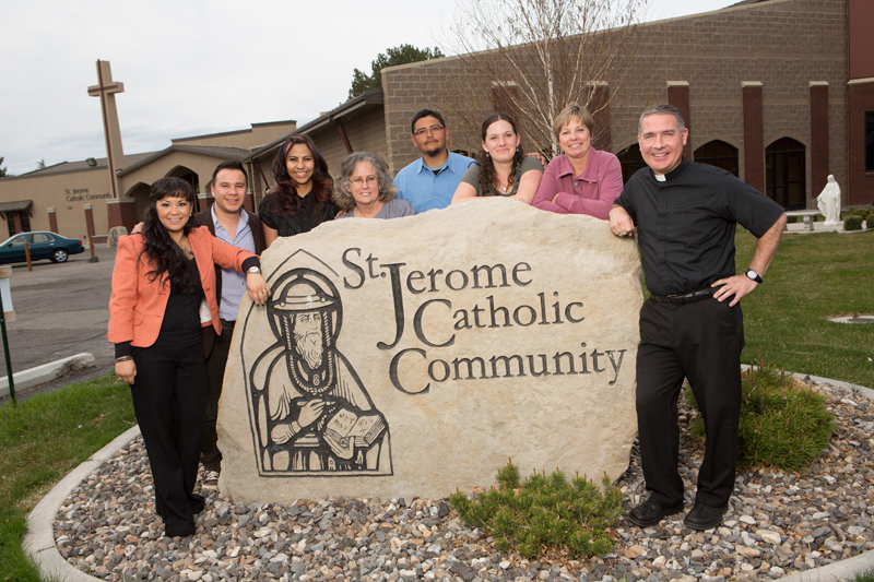The dedicated Catholics at St. Jerome who serve the poor and the marginalized in rural Idaho.